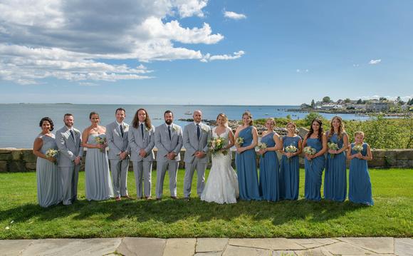 Mystic Yacht Club Wedding Mystic Connecticut Long Island Sound