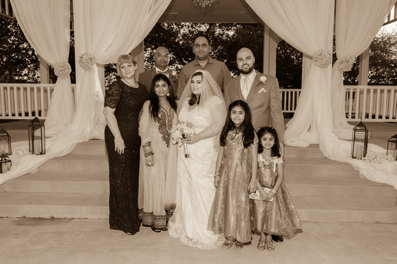 Lavnder and Old Lace wedding ceremony and reception in Mesa Arizona destination wedding