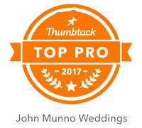 Top Connecticut Wedding Photographers Thumbtack Pro Award